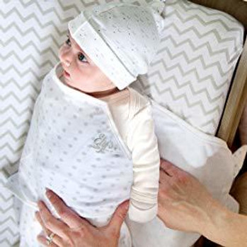 Adjustable Swaddle Wrap ( white )