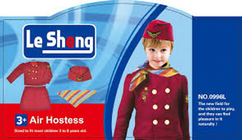 Flight Attendant Air Hostess Costume