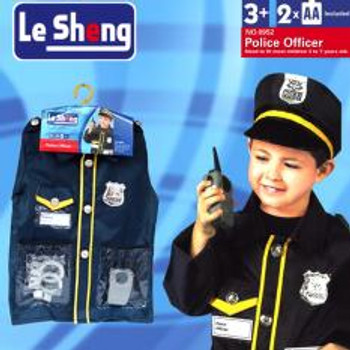 Police Officer Costume (Black)