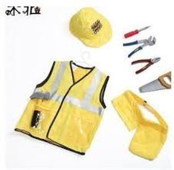 Construction dress up costume