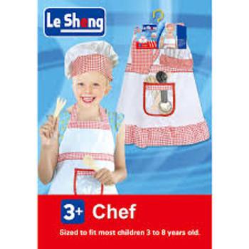 Chef Dress-Up Kids Chef Girl Costume