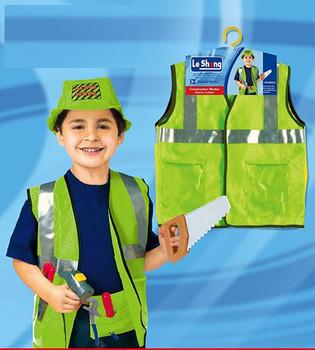 FancyDressWale Kid's Construction Worker or Engineer Dress Community Helper Theme