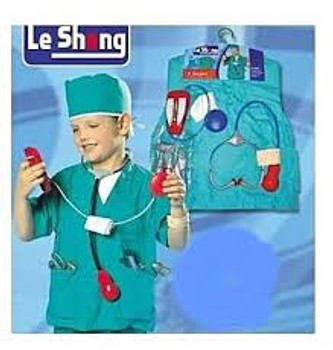 Career, doctor, surgeon costume
