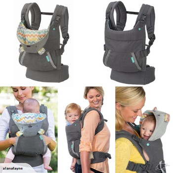 Cuddle Up Ergonomic Hoodie Baby Carrier