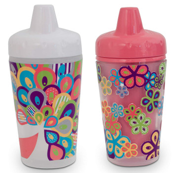 2 Pack Smart Sipper spill-proof Insulated Cups