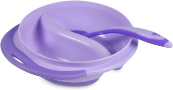 Meal Mates Infant Sectioned Bowl with Spoon