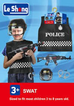 Swat Dress-Up Kids Costume