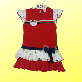 Frock ( red )