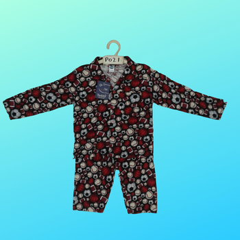 PAJAMA SETS(WITH BUTTON)