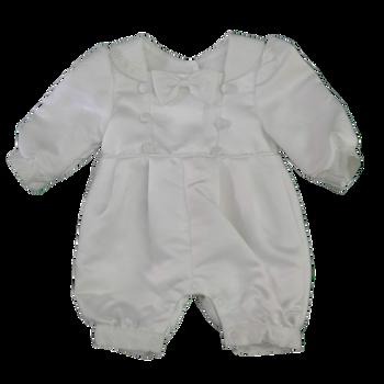 Infant dress - white