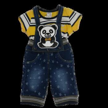 Infant dress - I Love Teddy
