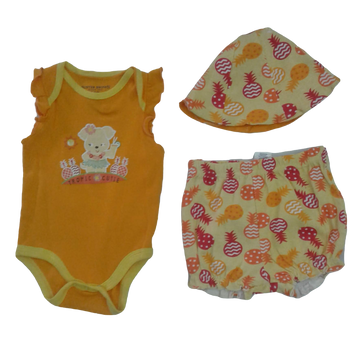 Infant 3 pcs Romper set