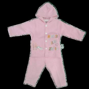 Infant Track Set  pink