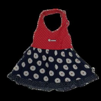 Infant dress - cute button