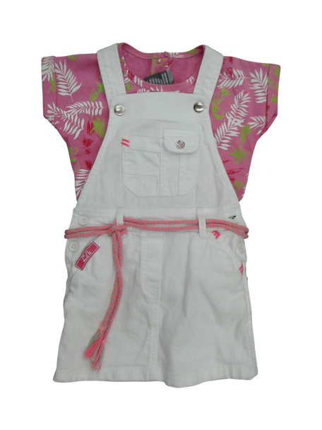 Skirt and top overalls