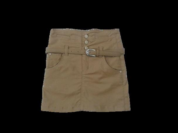 Girls Skirt  khaki