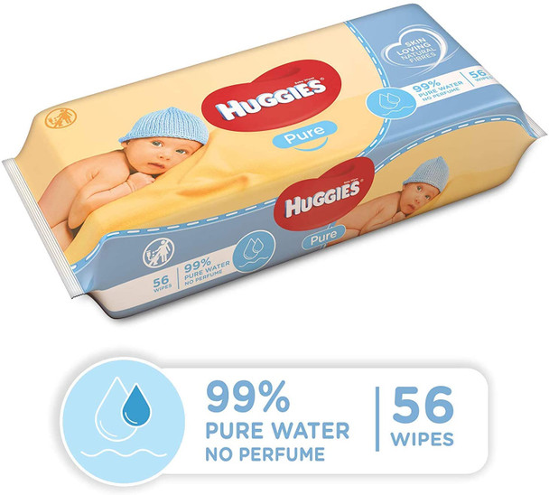 Huggies Baby Wipes ( 56 Pcs )