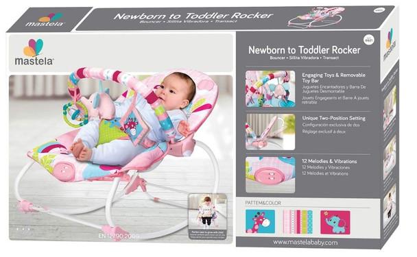 Mastela Newborn to Toddler Rocker 6921 (Pink)