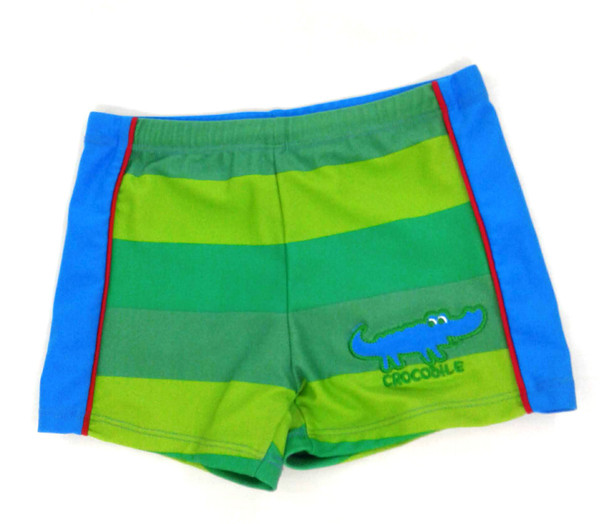 Boys swim short crocodile
