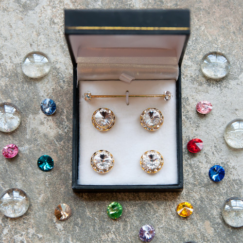 5-piece Classic Set, 25 colors, silver or gold