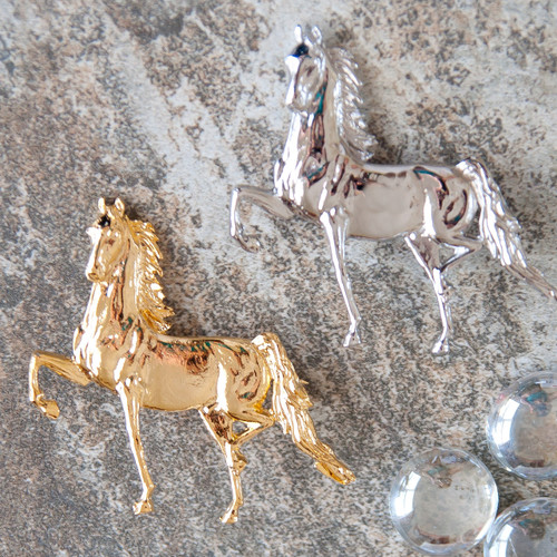 Large Saddlebred Brooch Pin or Magnet