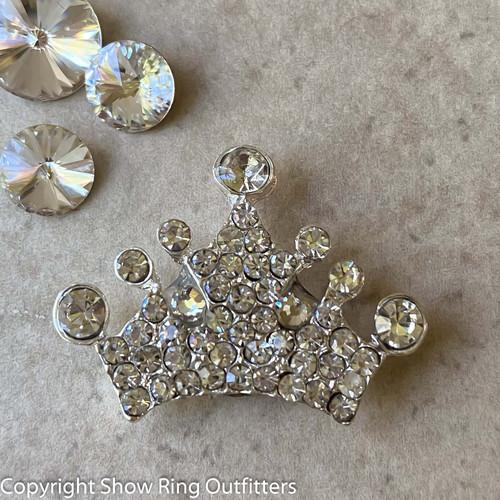 Crown Brooch, Magnetic