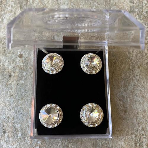 Faux Crystal Magnet Set