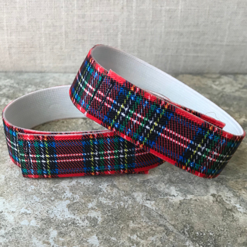 Jod Savers (Cuff Straps),  Plaid