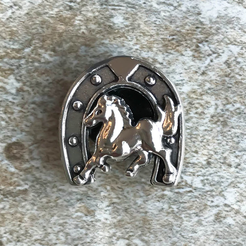 Small Horseshoe Lapel Pin/Tie Tack