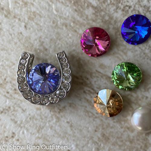 NEW! Jewel Magnetic Horseshoe , 25 colors