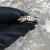 CLOSEOUT! Rhinestone Tie Ring, Gold or Silver