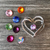 Heart Brooch, 25 colors