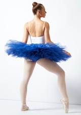 Bloch Belle Ubungs-Tutu Blau hinten. [Blau]