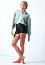 Move Dance Teen Tanz-Pullover Lilly mit Kordelzug Teal  Vorderseite-1 [Teal ]