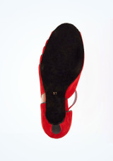 Merlet Standard- & Latein-Tanzschuh Danube 5cm Rot #3. [Rot]