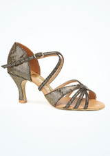 Freed Lidia Tanzschuh 6cm Gold. [Gold]