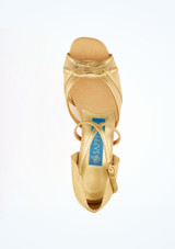 Ray Rose Gold Standard- & Lateinschuh 3,8cm oben. [Gold]