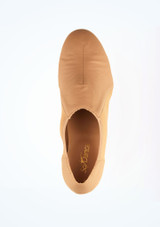 So Danca Steppschuh in Schlupfform Caramel Braun #2. [Braun]