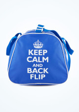 Tappers & Pointers Sporttasche Keep Calm and Flip Blau.
