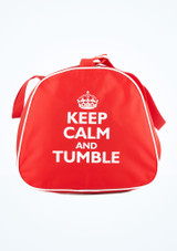 Tappers & Pointers Sporttasche Keep Calm and Tumble Rot vorn. [Rot]