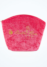 Ballet Rosa Velours Make-up-Tasche hauptbild. [Rosa]