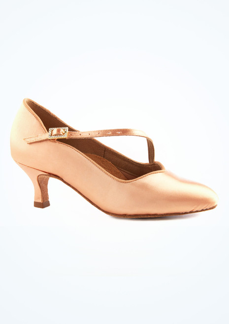 Freed Delia Slim-Fit Tanzschuh 5,1cm vorn. [Tan]