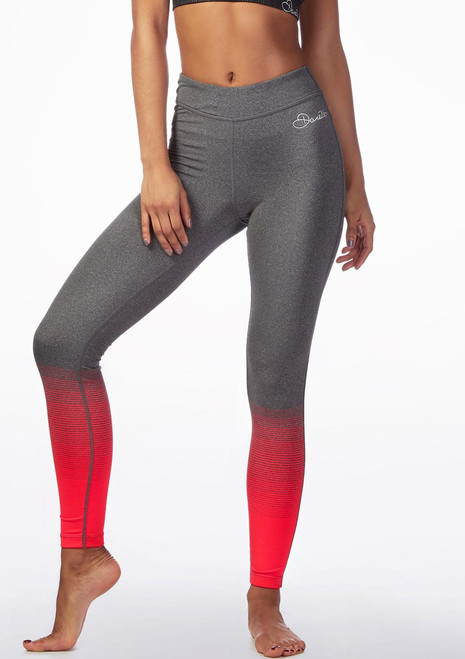 Dare2b lange Fitness-Leggings Rosa vorn. [Rosa]