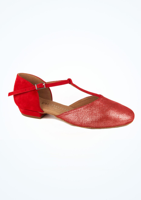 Rummos Latein- & Standard-Tanzschuh Carol 1,75cm Rot. [Rot]