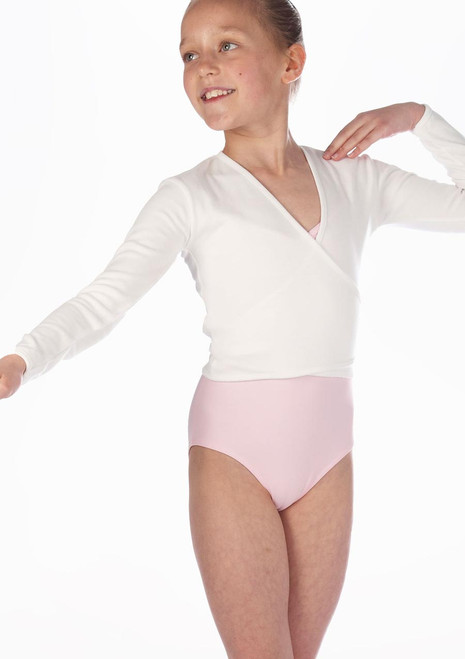 Repetto Interlock Ballett Wickeljacke Weiß. [Weiß]