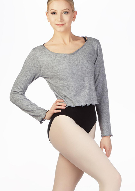 Intermezzo Supersoft Ballett-Sweater Grau vorn. [Grau]