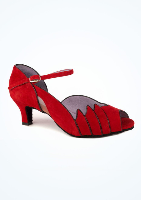 Merlet Standard- & Latein-Tanzschuh Danube 5cm Rot. [Rot]