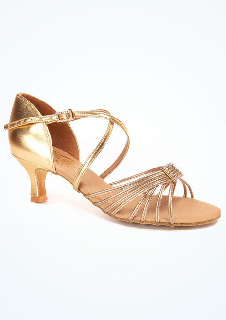Freed Juliette Tanzschuh 5cm Gold. [Gold]