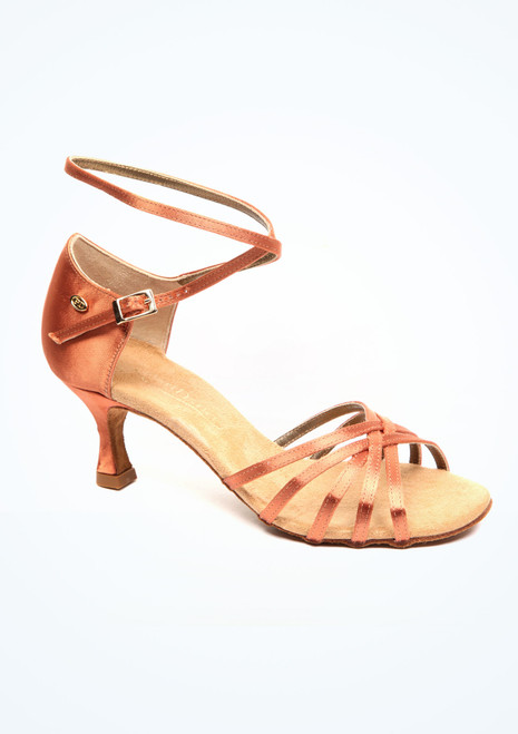 PortDance Cosmos Standard- & Latein-Tanzschuh 5cm. [Tan]