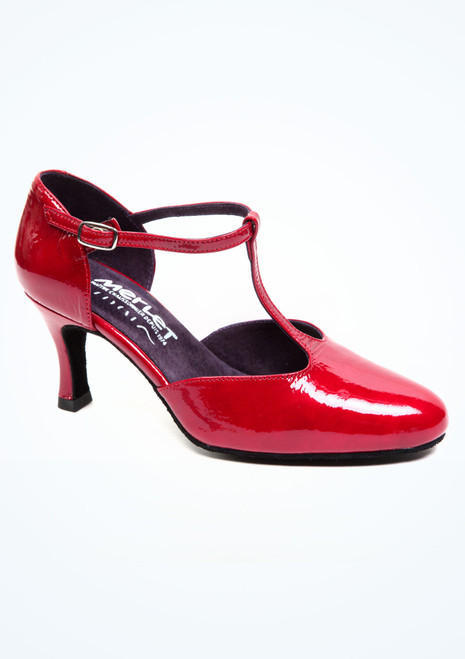 Merlet Nina Standard- & Latein-Tanzschuh 6,5cm Rot. [Rot]